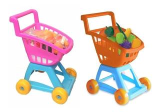Carrito De Supermercado Con Frutas Y Verduras Duravit