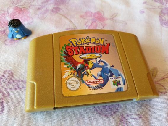 Nintendo 64 Pokemon Stadium 2 Original Europeu