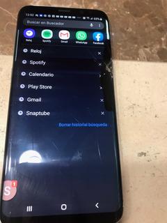 Samsung S8 Plus Estrellado Marco De Aluminio