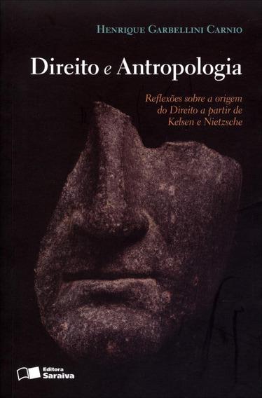 Direito E Antropologia - Reflexões Sobre A Origem