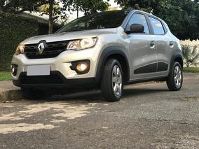 Renault Kwid Zen 2018/2019, 1.0, Prata, 5 Portas, Completo