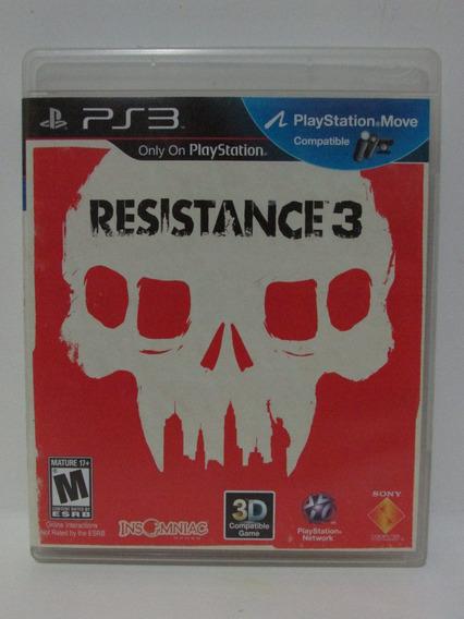 Ps3 - Resistance 3 Game Americano Mídia Física