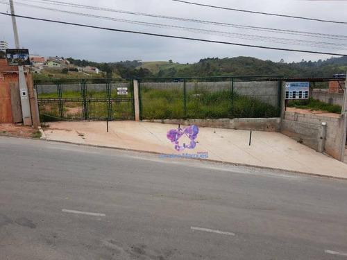 Terreno Para Alugar, 611 M² Por R$ 4.000,00/mês - Jardim Bela Vista - Araçariguama/sp - Te0480