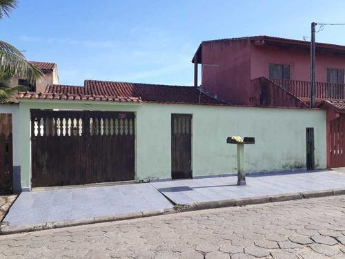 (ref:5673) Casa 600 Metros Do Mar- Itanhaém/sp - Gaivota