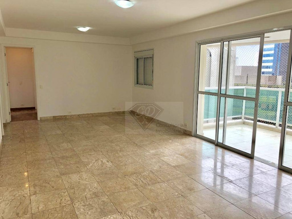 Apartamento No Humanari Com 2 Suítes, 111 M² No Brooklin Com 2 Vagas. - Ap14847