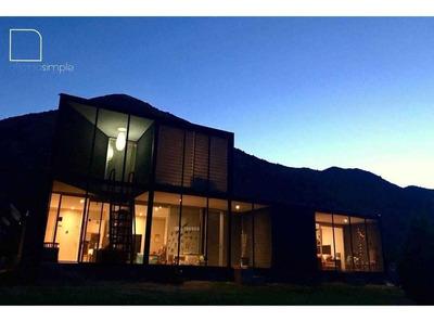 Sector El Manzano, Casa Mediterránea, Majestuosa Vista A Las Montañas, Residencial Y Comercio