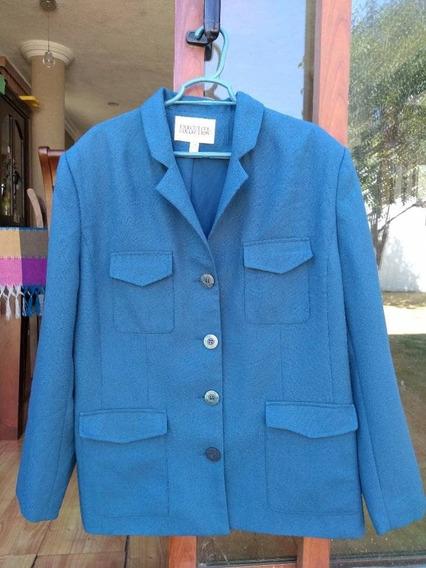 Blazer Azul Petroleo Talla 38