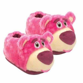 Pantufa Urso Lotso Toy Store - Tamanho 34/36 - Ricsen
