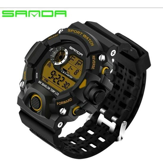 Relógio Masculino Importado Original Digital À Prova D