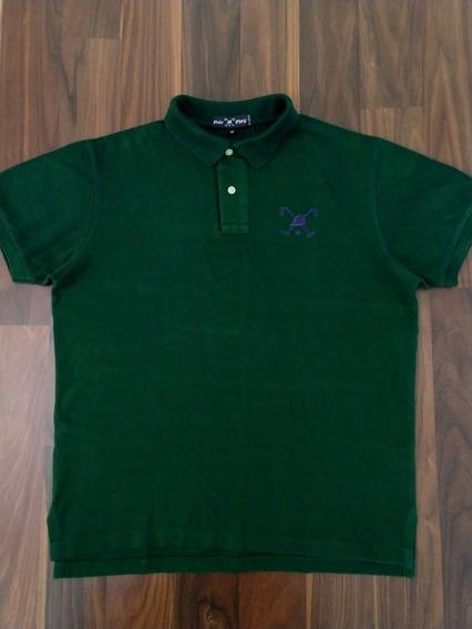 Camisa Polo Masculina Polo Play M Verde Original Oferta