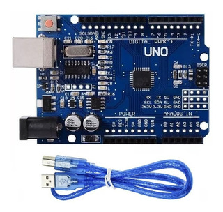 Arduino Uno R3 Atmega328p + Cable Usb