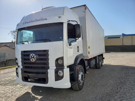 Volkswagen Vw 24.250 6x2 Constellation Baú 8m / Financiamos
