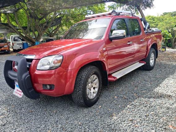 Mazda Bt - 50 4x4 Motor 2.6 2008 Rojo Verona 4 Puertas