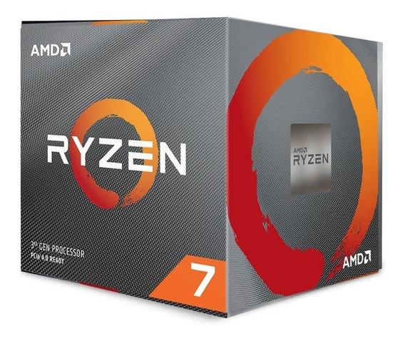 Processador Ryzen 7 3700x 3.6 Ghz (4.4 Ghz Freq. Máxima) Amd