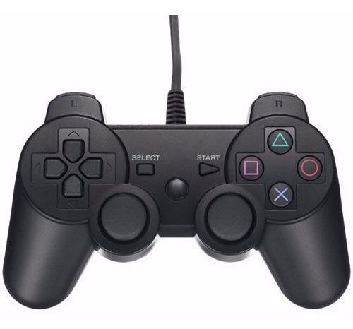 Imagen 1 de 5 de Joystick Mando Control Cableado Para Playstation 2 Ps2