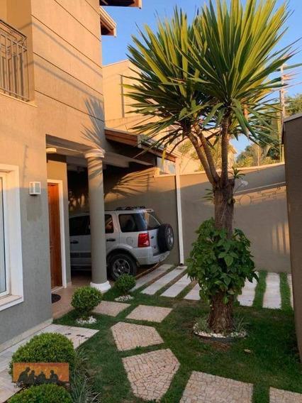 Sobrado Com 3 Dormitórios À Venda, 127 M² Por R$ 650.000 - Residencial Terras Do Barão - Campinas/sp - Ca2017