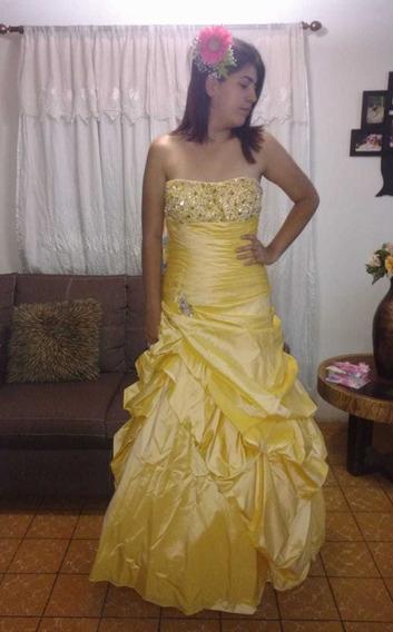 Vestido De Quinceañera Color Amarillo