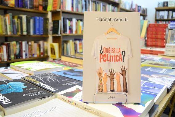 ¿qué Es La Política? Hannah Arendt.