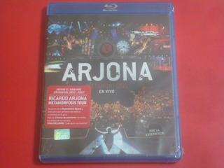 Ricardo Arjona - Metamorfosis En Vivo (blu Ray Nuevo)