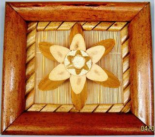Quadro Decorativo Artesanato De Buriti