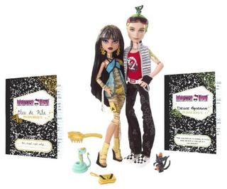 Monster High Cleo De Nile Y Deuce Gorgon Giftset