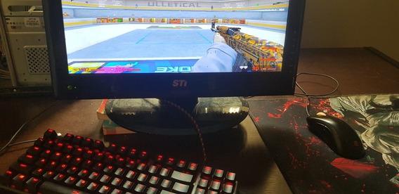 Pc Gamer Com Monitor E Periféricos De Primeira
