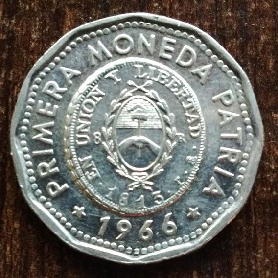 Moneda 25 Pesos Argentina 1966 Primera Moneda Patria Regular