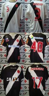 Lote Com 3 Camisas De Jogo Vasco Da Gama 2003/2010/2013