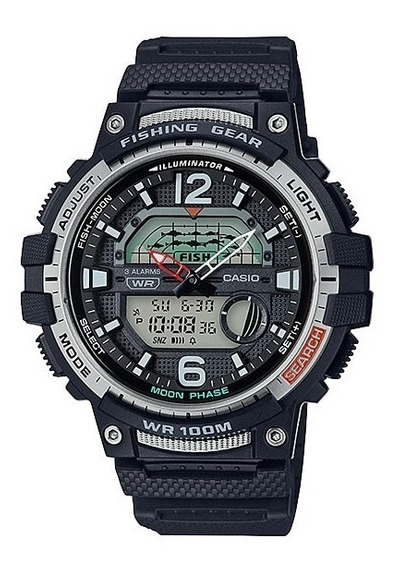 Reloj Casio Fishing Gear Wsc-1250h Sports Gear