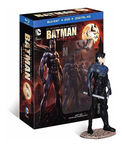 Blu-ray Batman Bad Blood / Bluray + Dvd + Figura