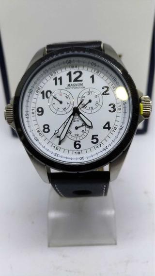 Relógio Magnum Em Aço