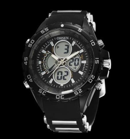 Relógio Masculino Ohsen Preto