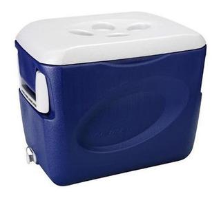 Caixa Termica 45l Com Alça - Azul - Invicta