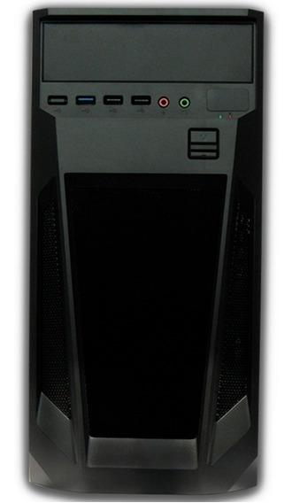 Gabinete Kmex Cm08tg/negro/micro Atx/fuente De Poder De 4 /v /vc