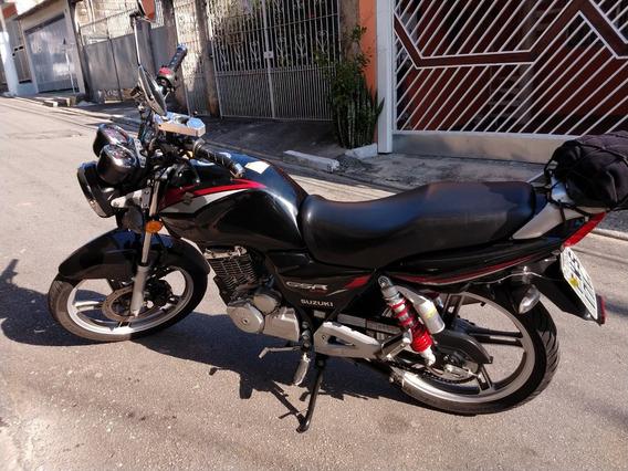 Suzuki Gsr 125 2016 Preta