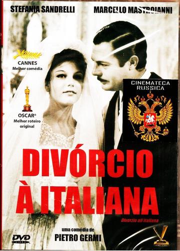 Dvd Divórcio À Italiana Stef Sandrelli  M Mastroianni 1961 +
