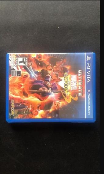 Jogo Psvita Ultimate Marvel Vs Capcom 3