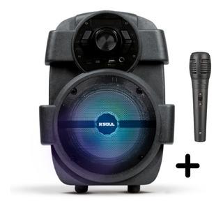 Parlante Portátil Bluetooth Led Micrófono Soul Boom Xl 400