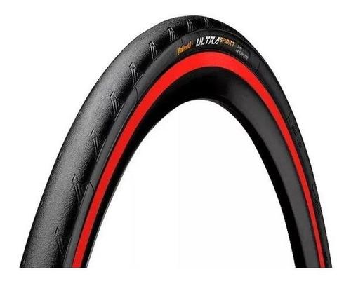 Pneu Continental Ultra Sport 3 Kevlar Preto/vermelho 700x25 | Mercado Livre