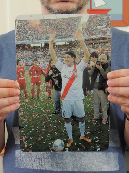 Chapa Decorativa River Plate Foto Poster Burrito Ortega