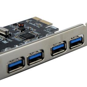 Hub Placa Pci Express Usb 3.0 5gbps 4 Portas