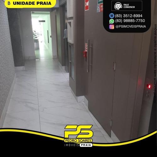 Apartamento Com 3 Dormitórios À Venda, 65 M² Por R$ 330.000 - Tambaú - João Pessoa/pb - Ap4773