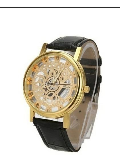 Moda Oco Estilo Relógios Pulseira De Couro Relógio De Quartz
