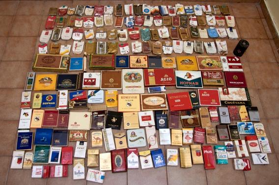 Etiquetas Y Cajas De Cigarrillos Importadas