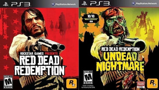 Red Dead Redemption + Undead Nightmare + Xtras ~ Ps3 Digital