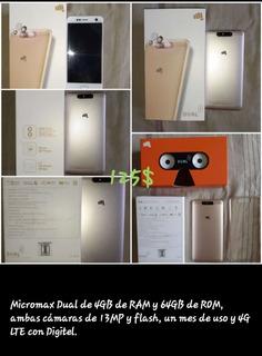Teléfono Micromax Dual