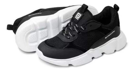 Tenis Masculino Chunky Sneaker Freeday Hype Branco Preto