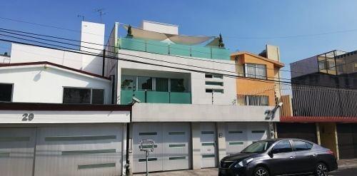 Hermosa Casa En Villa Quietud Coyoacan