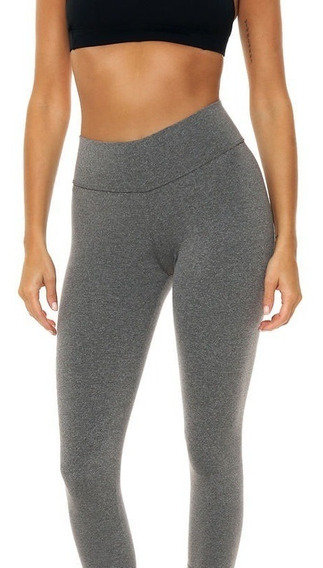 Calza Leggings De Supplex Tiro Alto Power Fitness