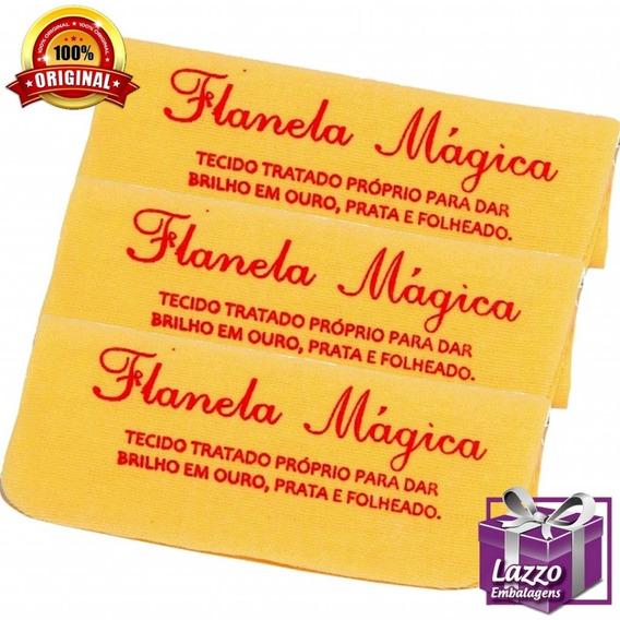 Kit 5 Flanela Magica Limpar Aliança De Moeda Antiga